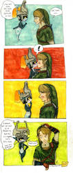 Zelda TP - Poor excuse by HikariMichi