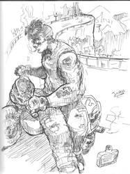 Boceto del sketchbook by Run-Devil-Ru-n