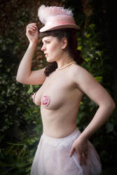 Pink and White Fancy Play Zivity v by vampireleniore