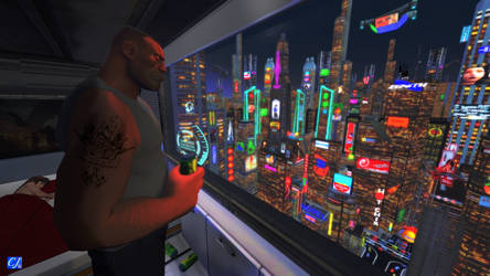 Last city on Earth: Skyline by commanderjonas