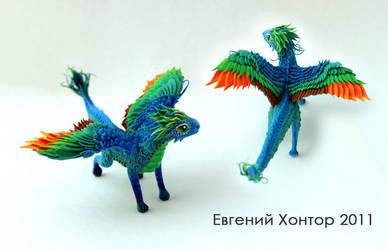 Cary-El dragon by hontor