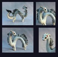 Ermine-Dragon by hontor