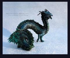 Raven-Dragon Quetzalcoatl by hontor