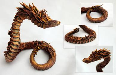 Copper-mane Snake by hontor