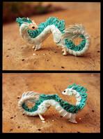 Little ermine-dragon by hontor