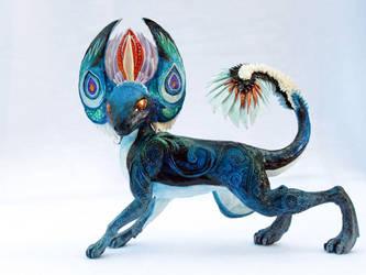 Big Blue Dragon by hontor