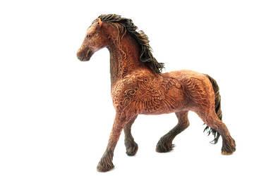 Bay horse by hontor