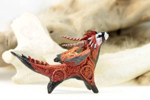Little ferret dragon by hontor