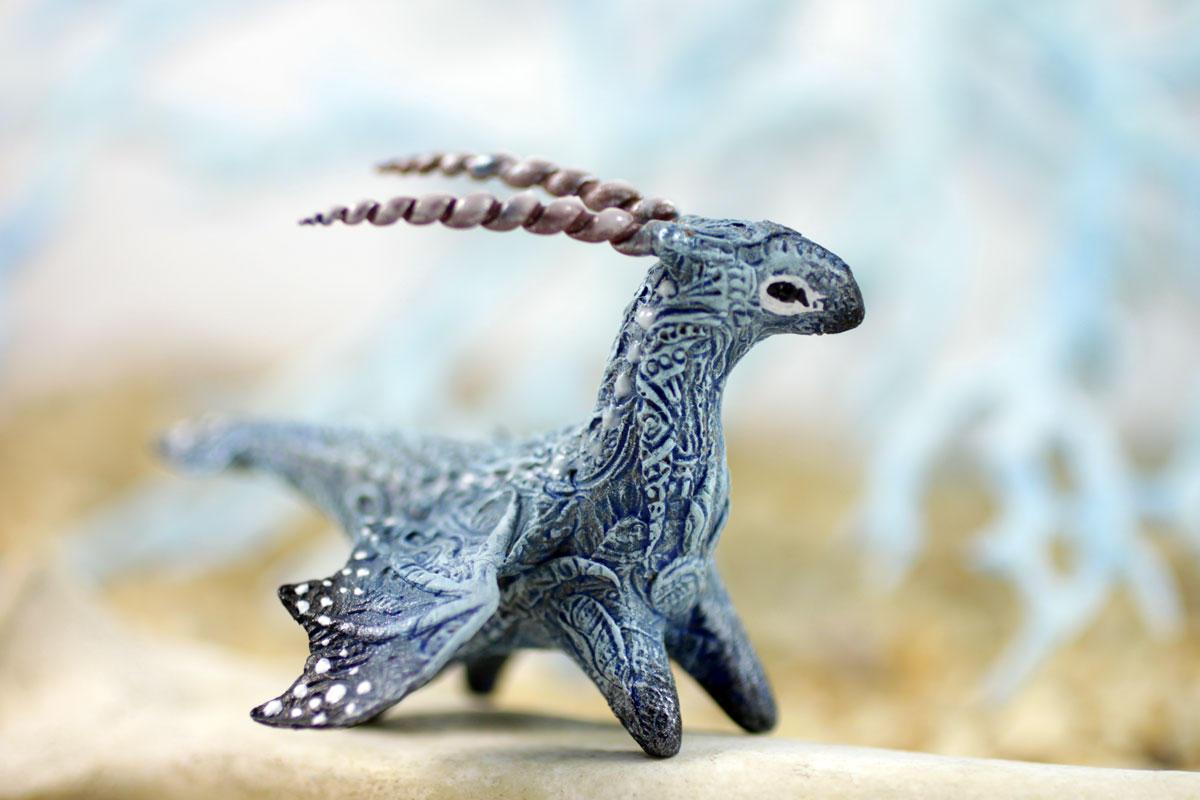Snow dragon by hontor