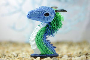 Dragon bust by hontor