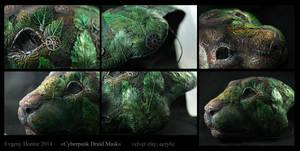 Cyberpunk Druid Mask II by hontor