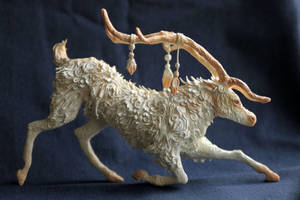 White Reindeer by hontor