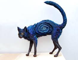 Black Galaxy Cat I by hontor