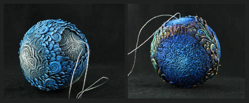 Christmas balls by hontor