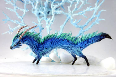 Water dragon - River Spirit by hontor