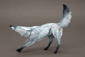 Snow fox by hontor