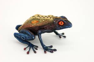 Demonic frog I by hontor