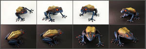 Demonic frog II by hontor