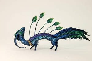 Eastern Peacock Dragon by hontor