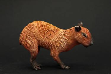 Capybara by hontor
