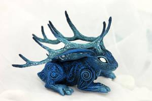 Moon King jackalope II by hontor