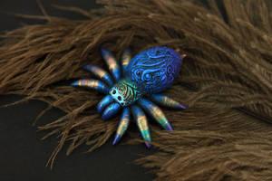 Black spider by hontor