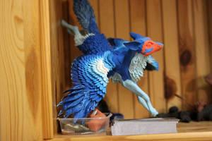 Blue winged fox WIP by hontor