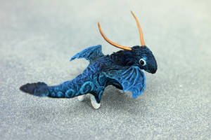 Night blue spirit by hontor