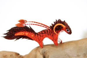 Little fire dragon spirit by hontor