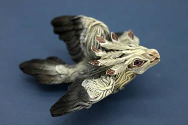 Three-winged bird Seeyna by hontor