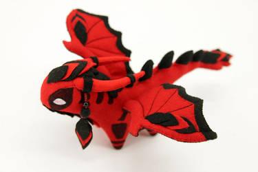 Deadpool dragon plush by hontor