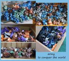 Army to conquer the world by hontor