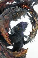 Gryphoron Tavarhi and Shadow Phoenix by hontor