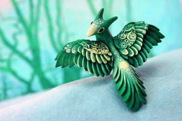 Mint dragon by hontor