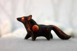 Blood moon fox by hontor