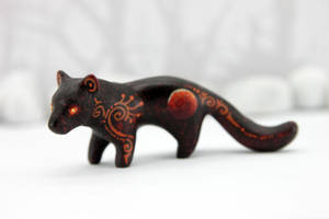 Panther of lunar eclipse by hontor