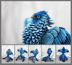 Ice Phoenix by hontor