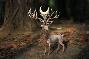 Deer Spirit by hontor