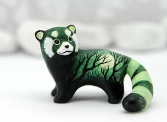 Forest Wanderer panda by hontor