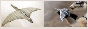 Flute bird by hontor