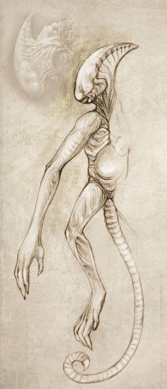 Proteus (Alien Covenant inspired) by hontor