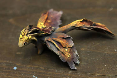 Bonfire dragon by hontor