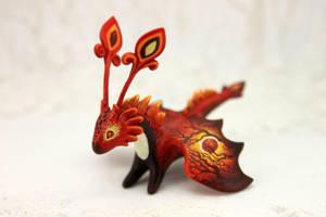 Solar Eclipse dragon by hontor