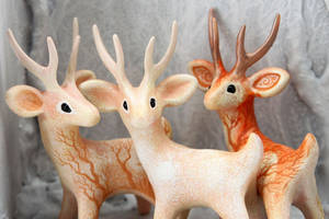 Sacred Deers by hontor