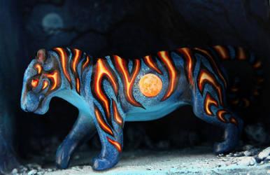 Harvest Moon tiger by hontor