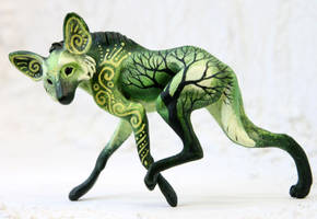Green maned wolf by hontor