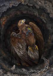 Broken birds by hontor