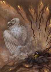 Compassionate vulture by hontor