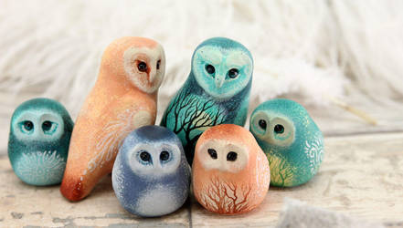 Owls by hontor