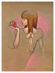 apple chan by garysimpson